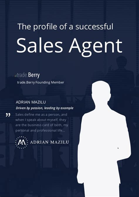 sales agent profile successful ebook slideshare