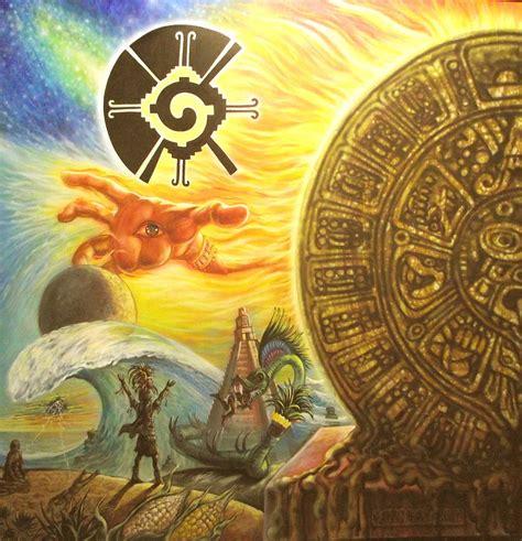 Mayan Predictions 2012 Mixed Media By Joe Santana