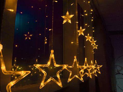 Christmas Lights Stars Decorations
