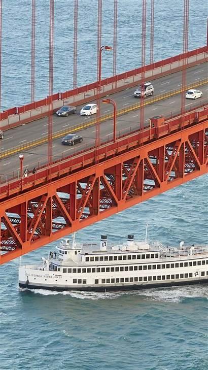 Bridge Gate Golden Under Backiee Wallpapers
