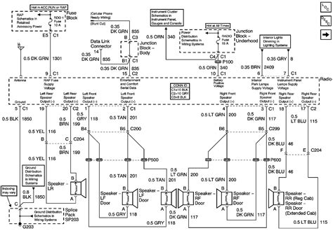 chevy suburban radio wiring diagram  wiring diagram