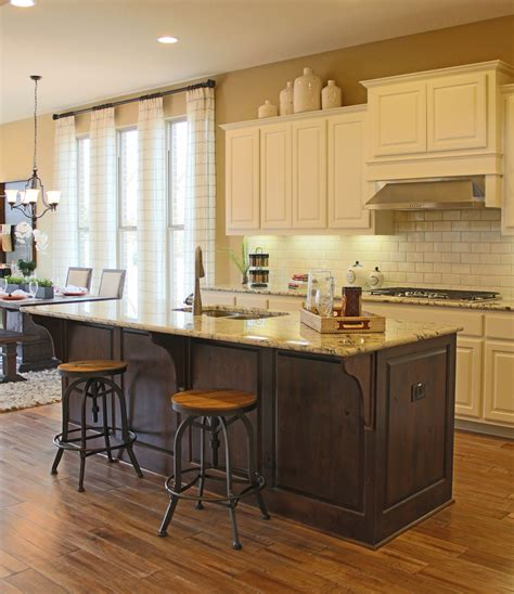 kitchen island com should cabinets match throughout house burrows cabinets