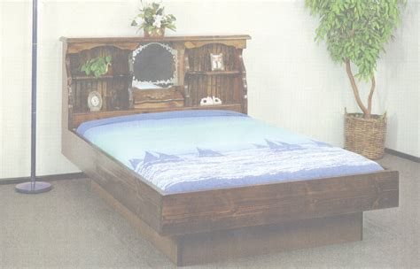 Queen Size Waterbed Headboards waterbed dakota complete hb fr deck ped k awesome