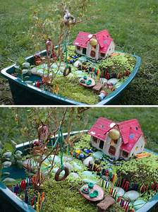 Awesome, Diy, Fairy, Garden, Ideas, U0026, Tutorials, 2017