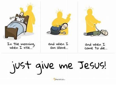 Give Jesus Lyrics Song Cartoon Christian