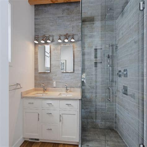 Badideen Fliesen Holzoptik by Bathtub Designs Wood Look Tile Bathroom Shower Stall Wood