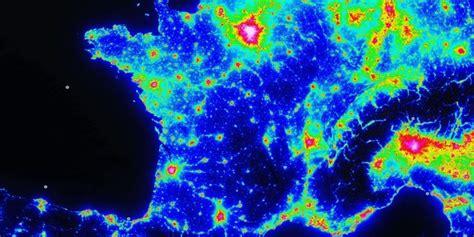 Carte Pollution Lumineuse Info by La Carte De La Pollution Lumineuse Pour Bien Profiter De