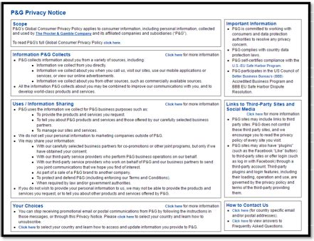 gdpr compliant privacy policy template privacy notices make yours the best in show smart insights
