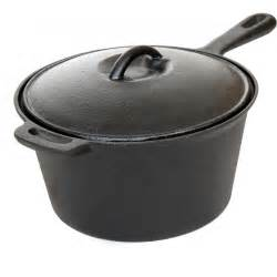 iron pots and pans cajun cookware pots 3 quart seasoned cast iron sauce pot gl10491bs