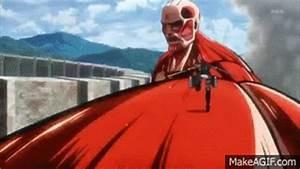 Shingeki no Kyojin - Eren vs Colossal Titan [720p HD] on ...