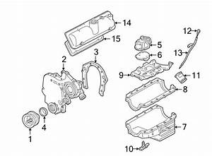 Chevrolet Corsica Engine Timing Cover  Liter  Cylinder