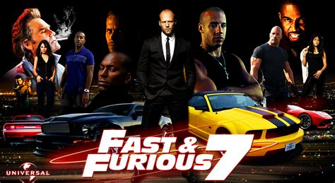 Fast And Furious 7 The Cars Of The Movie