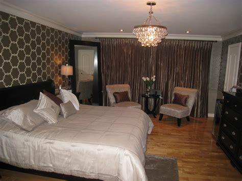 robert abbey bling chandelier bedroom traditional