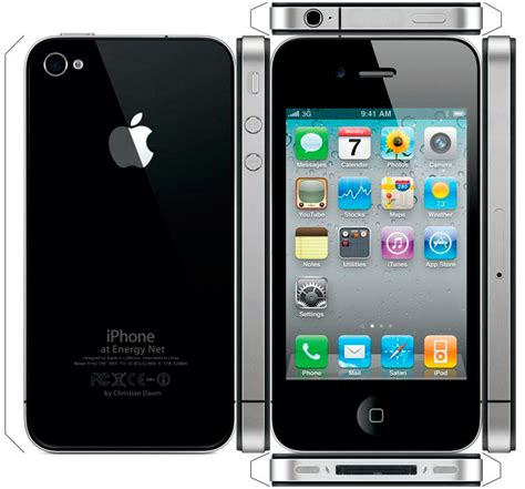 iphone 4s black view size