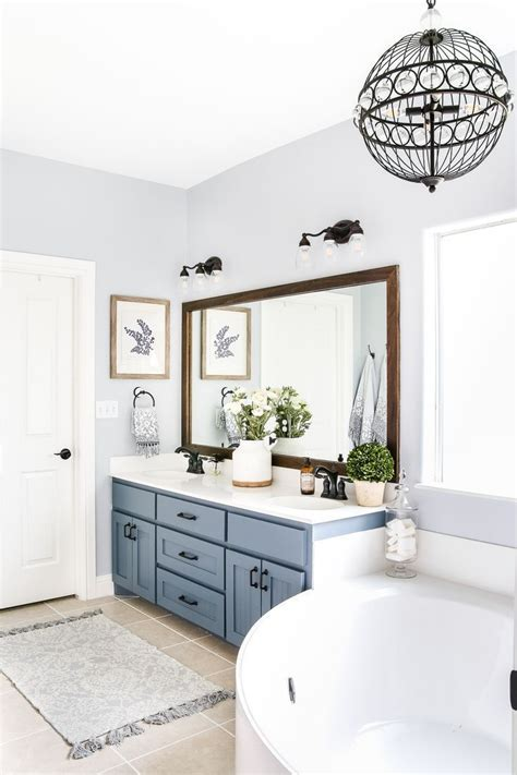 Master Bathroom Paint Ideas by Best 25 Blue Bathroom Paint Ideas On Bathroom