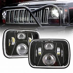 1set 2 Headlight Harness H4 Headlight Relay Harness H6054