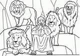 Coloring Daniel Den Lions Lion Popular sketch template