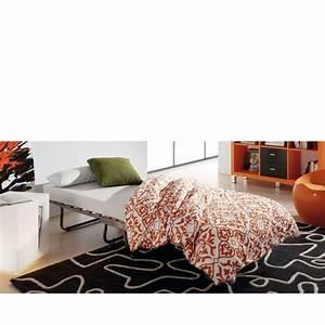 Lit pliable avec matelas 80 x 190 jamaica par drawerfr for Tapis kilim avec changer matelas canapé lit