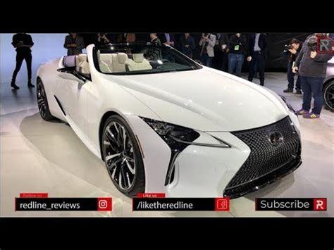 lexus lc convertible concept redline