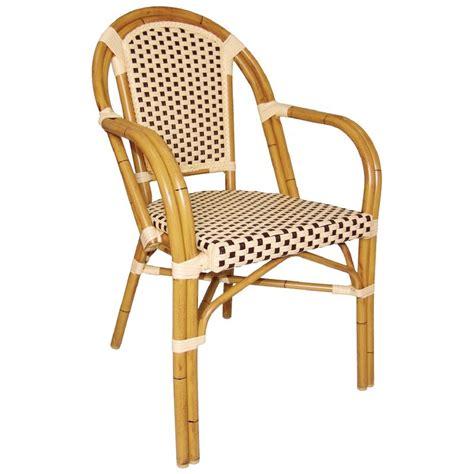 chaises en rotin bar avec accoudoirs gastromastro sas