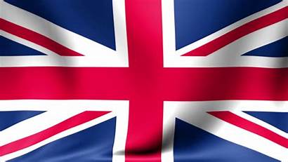 Flag Britain Background Waving Animated Animation Abstract