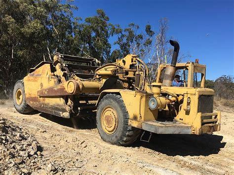 caterpillar  scraper  equipment review