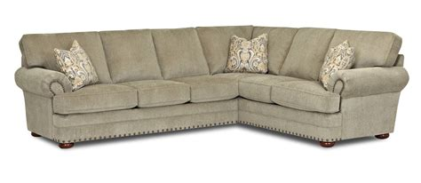 two piece sectional sofa traditional 2 piece sectional sofa by klaussner wolf and