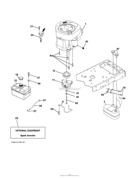 husqvarna lth    parts diagram