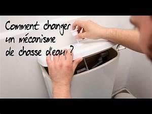 Comment Régler Une Chasse D Eau : comment changer le m canisme d 39 une chasse d 39 eau youtube ~ Premium-room.com Idées de Décoration