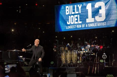 Billy Joel At Madison Square Garden January 9 Exclusive