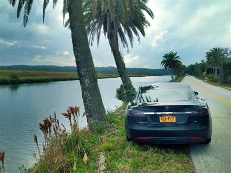 life  tesla model  ny fl supercharger road trip