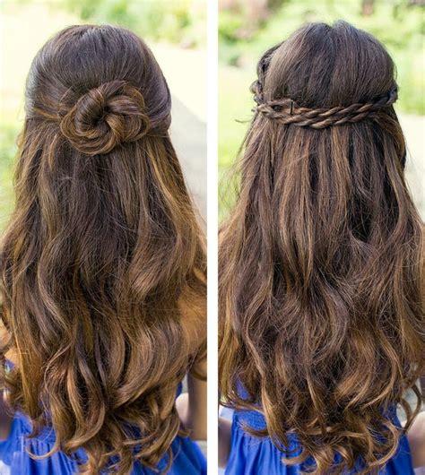 simple  cute hairstyles  long hair glorious simple