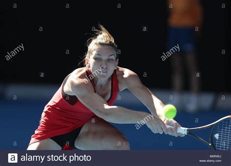 Simona Halep – 2018 Australian Open in Melbourne – Day 4 – GotCeleb