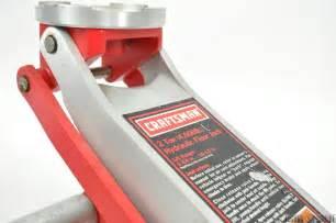 craftsman 2 ton hydraulic aluminum floor jack 4 000lb w