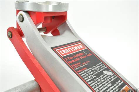 craftsman 2 ton hydraulic aluminum floor 4 000lb w bonus 3 000lb ebay