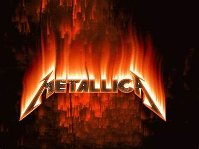 Metallica Fire Gifs Rock Animation Metal Animados
