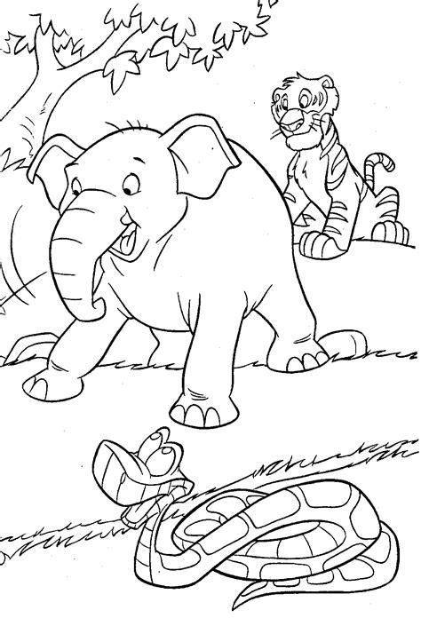 fun learn  worksheets  kid disney jungle book