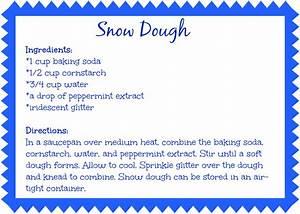 Snow Dough recipe - Our Potluck Family