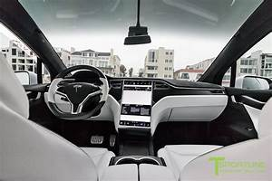 Pearl White Tesla Model X - White Interior – TSportline.com - Tesla Model S, 3, X & Y Accessories