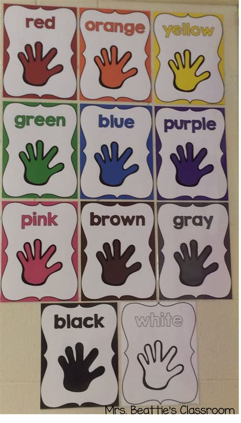 Red, yellow and blue are the three primary colors. Color Posters | Teaching colors, Toddler classroom, Preschool colors