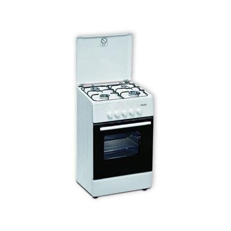 Cucina A Gas 4 Fuochi Con Forno Piano Cottura 50x55 Cm