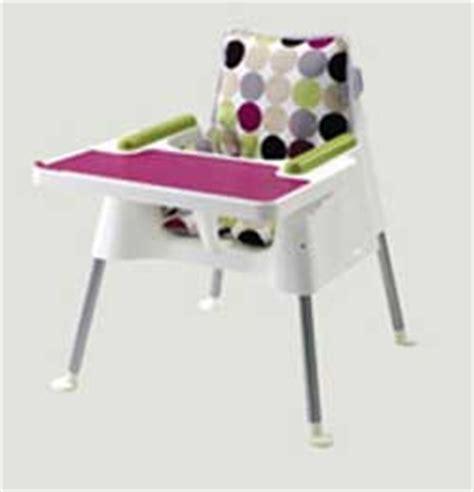 chaise haute cube dfork