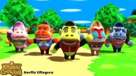 Mmd Model Gorilla Villagers Download By Sab64 On Deviantart