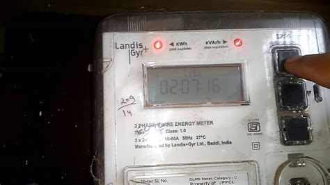 How Take Electricity Meter Reading India Youtube