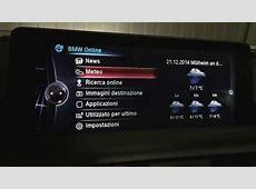 Bmw postmontaggio navigatore NBT con idrive touch F20 F30
