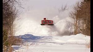 Railreel Must See Stuck In The Snow Osr Snow Plow Run St