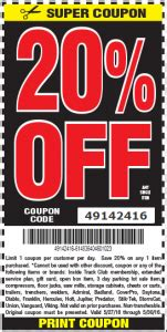 Hot Deal: Harbor Freight 20% Off Coupon Code for Memorial ...