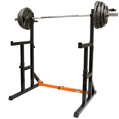 squat rack price mirafit adjustable squat rack dip stand barbell weight
