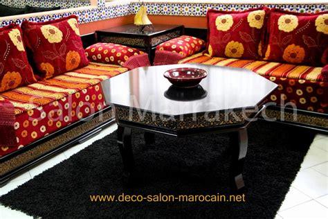 canapé marocain pas cher table salon marocain déco salon marocain