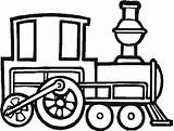 Train Coloring Steam Engine Draw Locomotive Trains Pages Clipart Printable Drawings Tren Dibujo Clip Cliparts Vapor sketch template